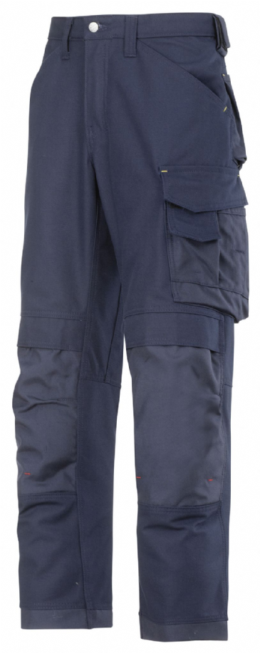Snickers 3314 Canvas+ Craftsmen Trousers (Navy)